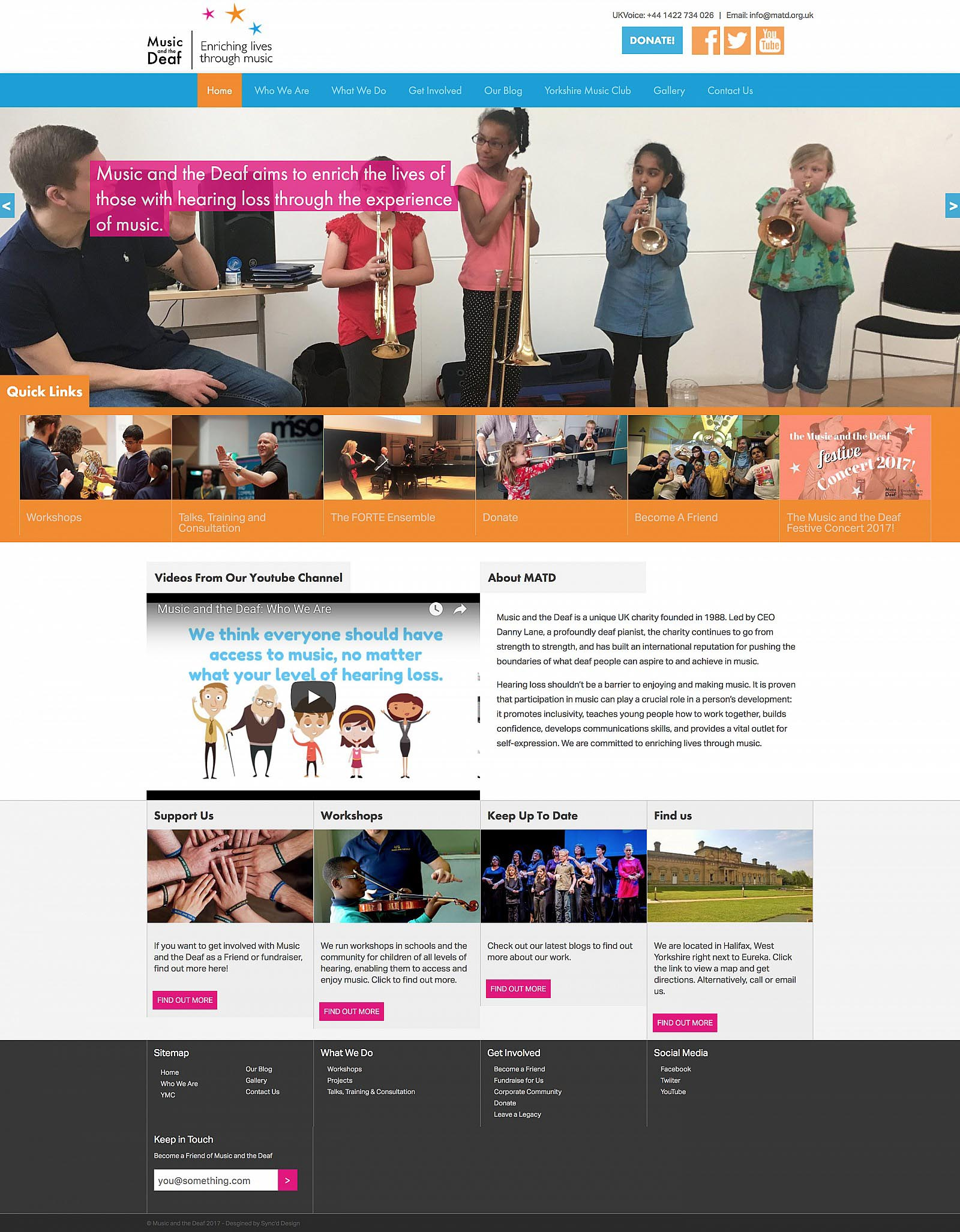 Matd org uk - Home page