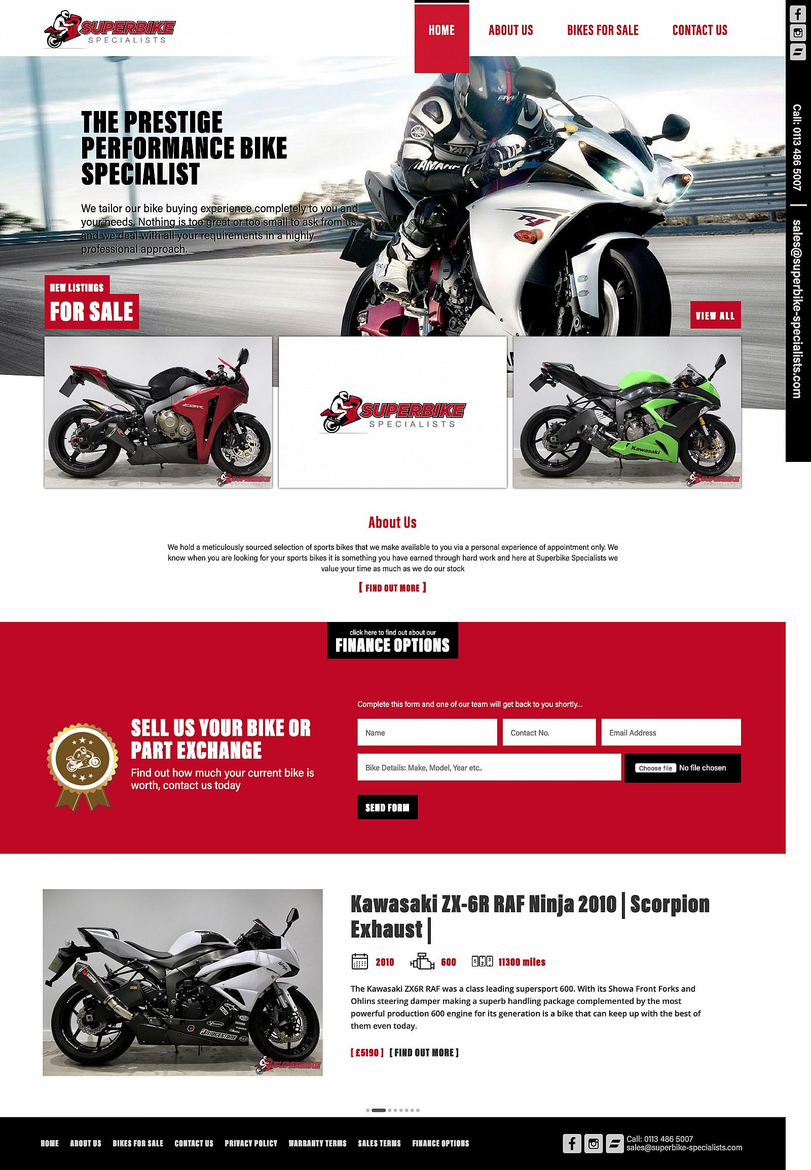 Superbike Specialists - Home Page