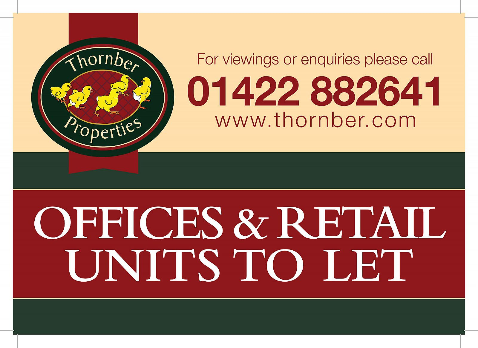 Thornber property - Signage